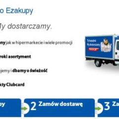 Zakupy online w TESCO