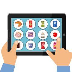 Kupowanie żywności przez internet