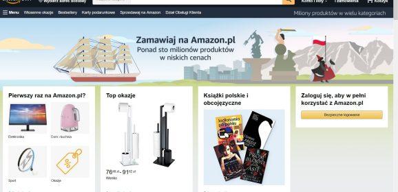 Wejście Amazonu do Polski